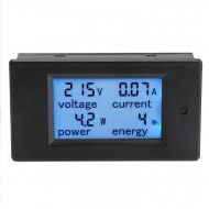 AC 110~220V 80~260V/20A Digital Multimeter Lcd Voltage/Current/Power/Energy Meter 4in1 Multifunction Monitor/Tester