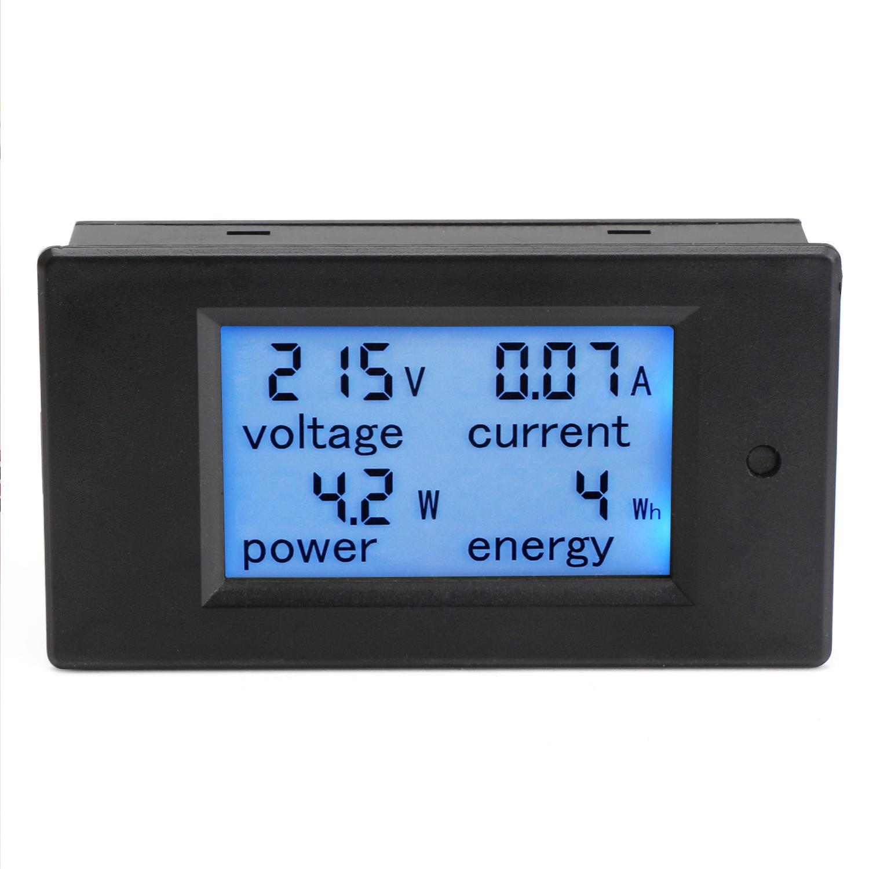 AC 80~260V/100A Lcd Digital Voltmeter/Ammeter/Power Meter/Energy ...