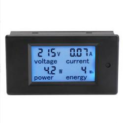 AC 80~260V/100A Lcd Digital Voltmeter/Ammeter/Power Meter/Energy Meter AC 110~220V Multimeter + Current Transformer CT