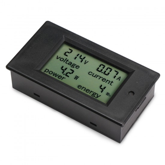 AC 80~260V/100A Lcd Digital Voltmeter/Ammeter/Power Meter/Energy Meter AC 110~220V Multimeter + Current Transformer CT