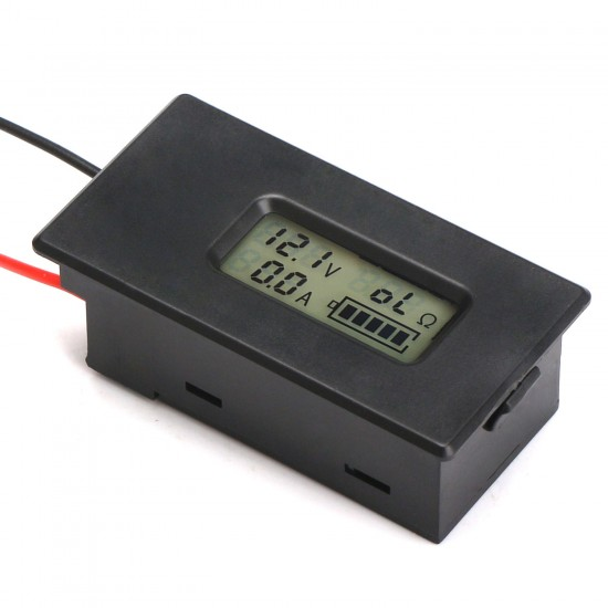 Digital Meter 4in1 Voltage/Current/Resistance/Capacity Monitor 2.8~26.0V/10A/1000 Ohm Lcd Multifunction Battery Tester