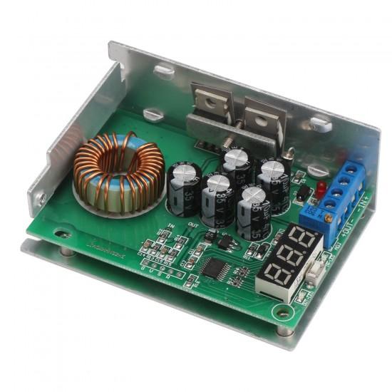 300W Power Supply Module DC 3.5~30V to 0.8~29V 10A Buck Converter/Adjustable Voltage Regulator/Adapter/Driver Module + Voltmeter