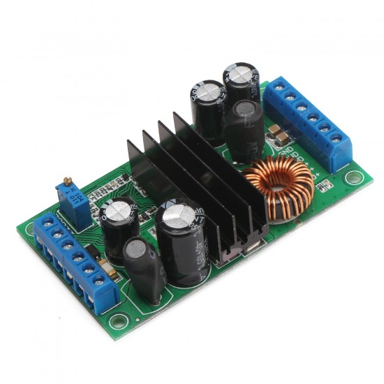 12A Adjustable Voltage Regulator/Adapter DC 5~32V to 2~24V Automatic Step UP/Down Power Supply Module for Car/solar/Laptop etc