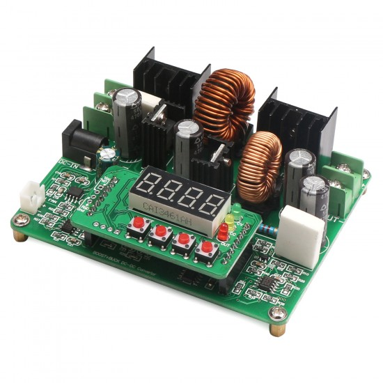 240W NC Voltage Regulator Buck Boost Converter DC 10~40V to 0~38V 6A Power Supply Module DC12V 24V Adapter/Driver