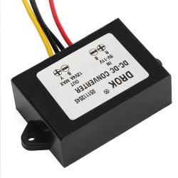 48W Car Converter DC 5V~12V to 12V 4A Boost Power Supply Module/Voltage Regulator/Power Converter/Power Adapter/Driver Module