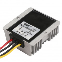 DC Buck Power Supply Module DC 48V(30~60V) to DC 12V 25A 300W Step Down Converter/Voltage Regulator/Power Adapter/Driver Module Waterproof