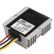 Car Converter DC 60V(20V~72V) to 12V 15A 180W Buck Power Supply Module/Power Adapter/Voltage Regulator/Driver Module Waterproof