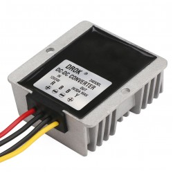150W Buck Power Supply Module DC 12V/24V to 5V 30A Step Down Converter/Car Adapter/Voltage Regulator/Driver Module Waterproof