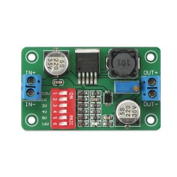 Power Supply Module DC 5~36V to 1.5~33V 3A Buck Converter/Adjustable Voltage Regulator DC 12V 24V Adapter/Driver Module