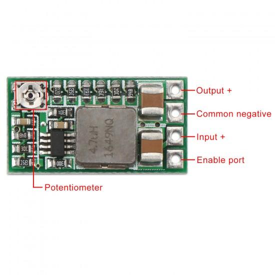 5 PCS/LOT Mini Power Supply Module/Car Adapter DC 4.5~24V to 5V 3A Buck Converter/Adjustable Voltage Regulator/Driver Module/Charger