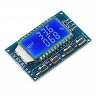 PWM Module DC 3.3V~30V Signal Generator PWM Pulse Frequency Duty Cycle Adjustable Module LCD Display 1Hz-150Khz PWM Board