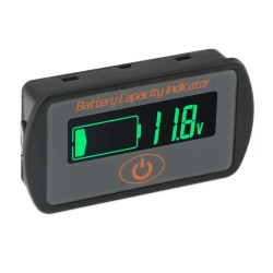 Digital Meter DC 12V/24V/36V/48V Battery Capacity Monitor/Lead-acid Li Battery Capacity Indicator Tester/Panel Meter