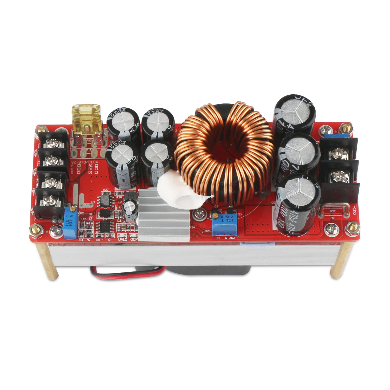 1500w Power Supply Module Dc1060v To 1290v 20a Converter Regulator Circuit Can Adjustable Output Voltage Electronic