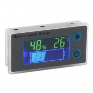 Digital Meter DC 10~100V Universal LCD Car Acid Lead Lithium Battery Capacity Indicator Tester with Low Pressure Alarm