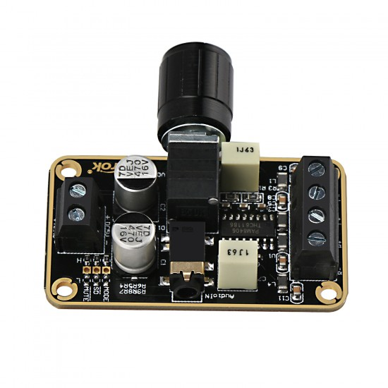 5W Audio Amplifier Module, Digital Amplifier DC 5V HIFI Class D Audio Amplifier Board Dual-channel 5W*5W D type Power Amplifier Module