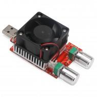 Intelligent USB Adjustable Constant Current Electronic Load DC3~21V/3.5A 35W Mobile Power Detector Tester USB Discharge Resistance