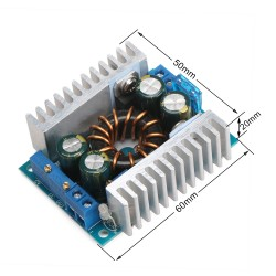 150W Power Supply Module DC 10~32V to 10~46V 16A Adjustable Boost Converter DC 12V 24V Voltage Regulator/Adapter/Charger/Driver