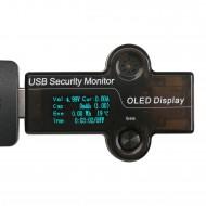Digital Meter 5in1 USB Voltmeter/Ammeter/Capacity Meter/Energy Meter/Temperature Meter/Running Time Monitor Meter Multifunction Tester USB Doctor