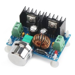 DC Motor Speed Regulator DC 4~40V to 1.25~36V 8A 200W High Power Voltage Regulator/PWM Motor Controller/Driver Module