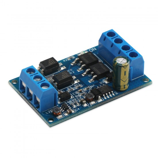 600W PWM Controller DC 4V ~ 60V electronically controlled switch High-power MOS tube  trigger switch DC Motor Speed Regulator