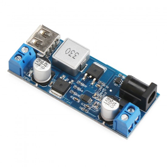 Power Supply Module DC 9V~36V to 5.2V 5A Double Output Buck Converter/USB Charger/Voltage Regulator/Adapter/Driver Module