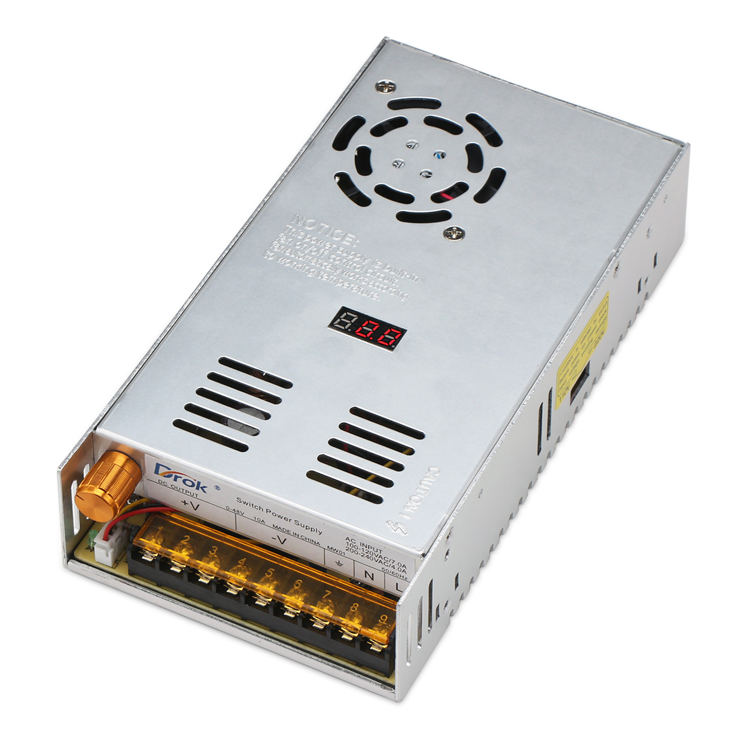 48w Ac Power Supply Switching Ac110220v To Dc0 48v 10a Led How Build Variable Voltage And Current 18 480w Display