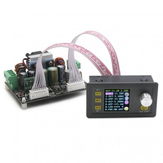 DPH3205 Digital Meter DC 6~ 40V to 0V~32V 5A Adjustable Voltage Regulator 160W Color LCD Digital Controller Buck-Boost Power Supply Module/Adapter