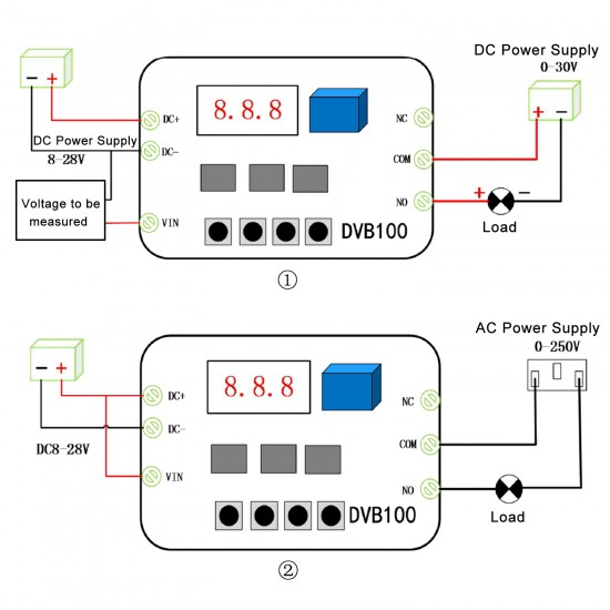 EODUDO-Tester Adjustable DC Power Supply 30V 3A Aging Maintenance Test Digital Display MCH-303A,Precision Measurement Size : 220V