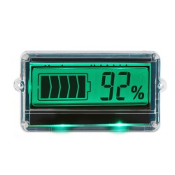 Battery Tester TH01 Battery Capacity Indicator DC 8~63V LCD Lead-acid Batteries Lithium Battery Capacity Display Panel Meter
