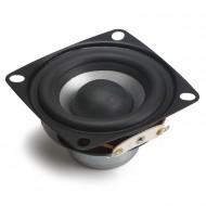 Full-range HiFi Speakers 2 Inches 8 ohms Speaker 12W  88dB Sensitivity (Square Shape) Audio Speaker for multimedia speakers/Car/home amplifier
