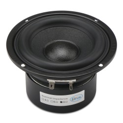 Woofer Speaker 4-inch 8 ohms Antimagnetic Loudspeaker 40W Audio Speaker Hi-Fi Subwoofer Speaker Bass Antimagnetic Speaker for DIY speakers