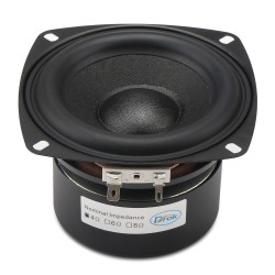 40W Woofer Speaker Antimagnetic Loudspeaker 4-inch 4 ohms Hi-Fi Subwoofer Speaker Bass Speaker for DIY speakers
