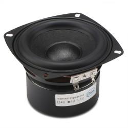Hi-Fi Audio Speaker 40W Woofer Speaker 4-inch 6 ohms Subwoofer Speaker Bass Speaker Antimagnetic Stereo Loudspeaker for DIY Individuality Speakers