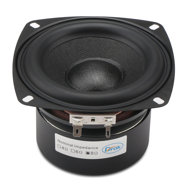 Stereo Loudspeaker 40W Woofer Speaker/Audio Speaker 4-inch ...