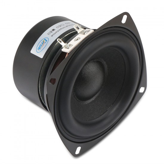 Stereo Loudspeaker 40W Woofer Speaker/Audio Speaker 4-inch 8 ohms Subwoofer Speaker Bass Speaker Antimagnetic for DIY speakers