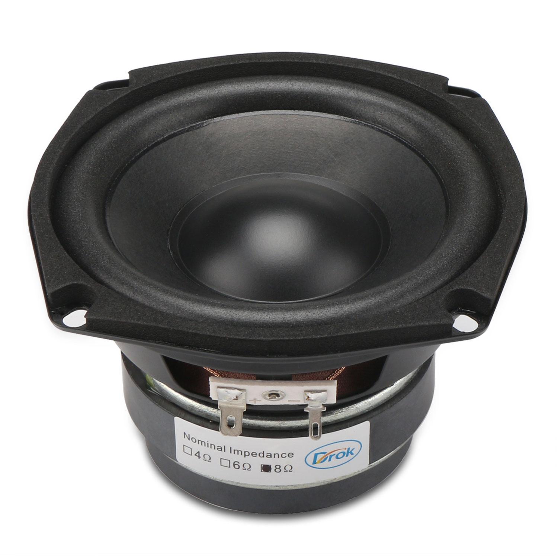 4.5-inch 8 ohms Subwoofer Bass Speaker/Shocking Bass Loudspeaker 40W ...