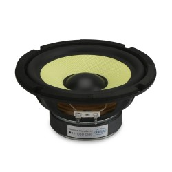 6.5 inch HI-FI Stereo Woofer Loudspeaker 4 ohms Mid Bass Woofer Speaker 35W  Bass Audio Speaker for DIY Speakers