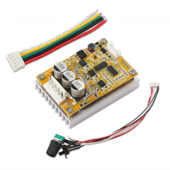 Brushless Motor Drive Board DC 5~36V 16A 350W Brushless Controller BLDC Motor Controller for E-bike/E-scooter speed controller