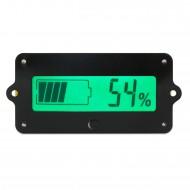 12V 24V 36V Lead-acid Li Battery Capacity Indicator Tester Voltmeter Voltage Capacity 2 in 1 Digital Meter/Monitor Panel Meter