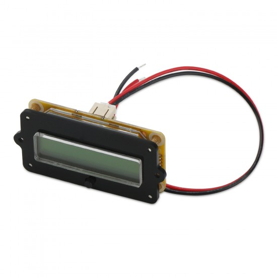 12V 24V 36V Lead-acid Li Battery Capacity Indicator Tester Voltmeter Voltage Capacity 2 in 1 Digital Meter/Monitor Panel Meter