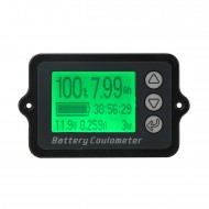 Digital Meter DC 8~80V 50A Battery Coulometer Universal Battery Capacity Tester for LiFePo Coulomb Counter