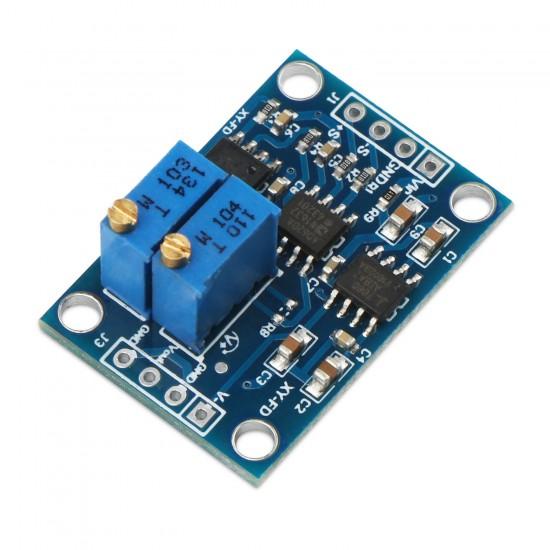 DC Microvolt/Millivolt Voltage Amplifier Module AD620 Signal Amplifier Board High Precision Volt Amplifier Zero Point Adjustable