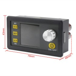 CNC Power Supply Module/Adapter DC 6~55V to 0V~50V 5A 250W Adjustable Voltage Regulator DC 12V 24V Driver+USB Communication Board