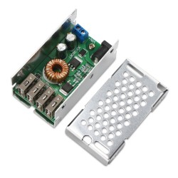 25W Power Supply Module DC9 ~36V to 5V 5A USB Adapter/Charger 4 USB Ports Output Voltage Regulator/Charging Module