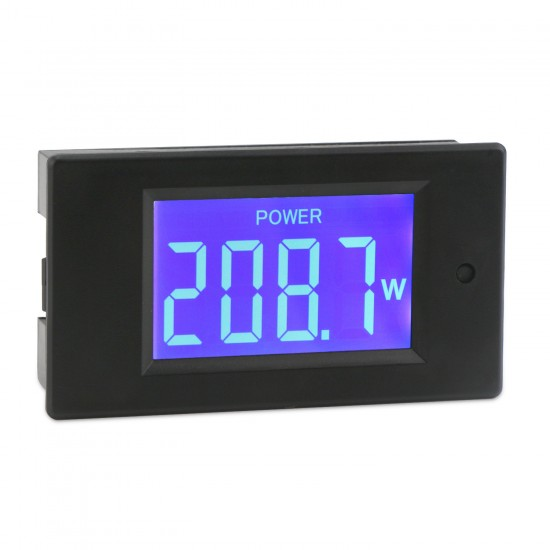 AC Digital Multimeter Voltage Current Power Energy Detector Meter 80~260V 5A Ammeter 220V Voltmeter LCD Display Digital Meter/Tester