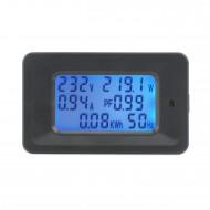 Digital Meter AC 80V~260V 20A 4500W LCD Display Tester Multifunction Panel Meter AC 110V 220V Digital Multimeter/Monitor