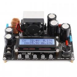 CNC DC Boost Converter 10V-65V to 12V-120V 12A 800W Adjustable Power Supply  with Cooling Fan