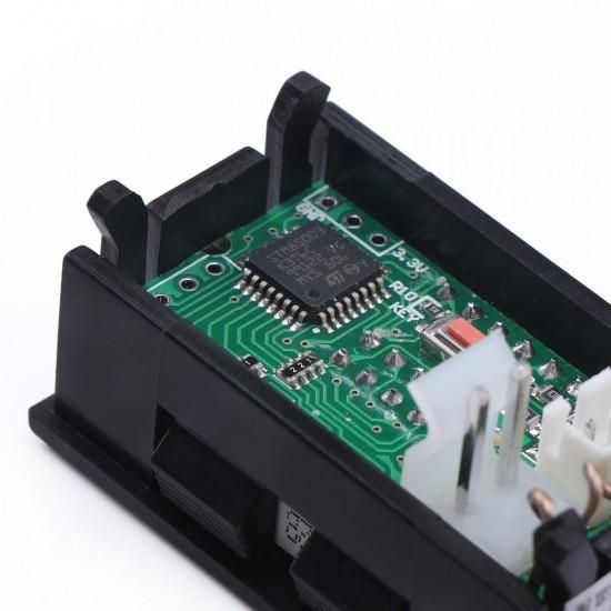 """0.28""""High Accuracy DC 0-33.00V/0-999.9mA-3.000A 12V Voltmeter Ammeter Voltage Current Tester Monitor Panel Gauge"""