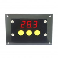 DC12V Digital Thermostat Cooling Heating Automatic Switch -50-110°c Temp Control with NTC Temp Sensor
