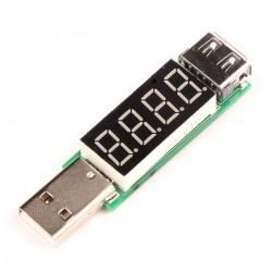 Digital USB Voltmeter/Ammeter Voltage Current Monitor 3V-7V 3A Volt Ampere Tester
